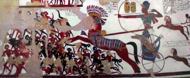 Ramsès II contre les Nubiens