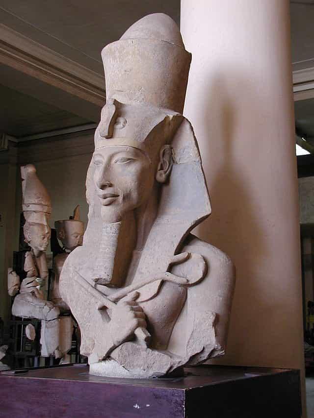 Buste d'Akhenaton