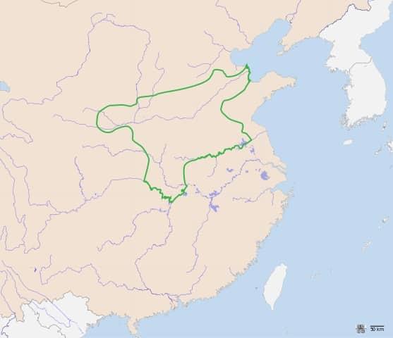Territoire de la dynastie Shang