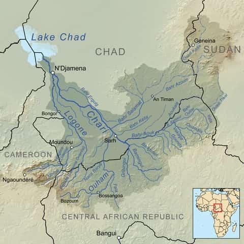 Fleuve Chari Tchad