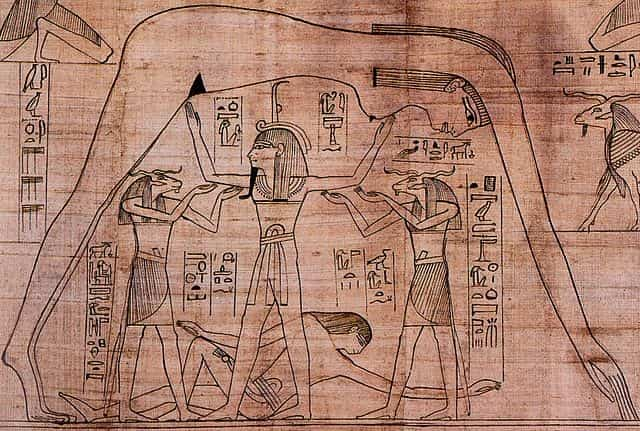 Cosmologie religion de l'égypte antique