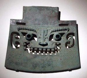 Travail du bronze guerrier sous la dynastie Shang