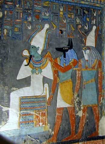 Le panthéon des dieux égyptiens