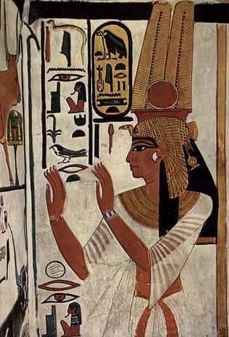 Représentation de Nefertiti