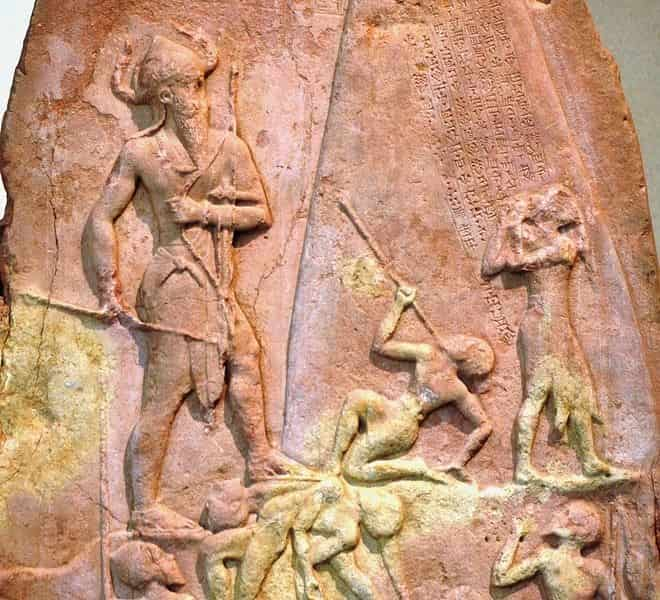 Naram Sim la stèle du Louvre