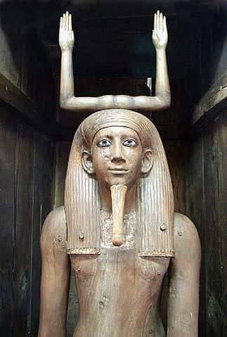 Une statue représentant Ka