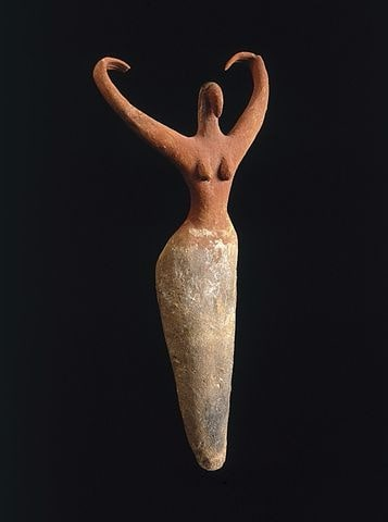 Figure de femme égypte antique