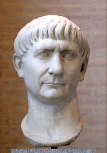 Représentation de l'empereur romain Trajan
