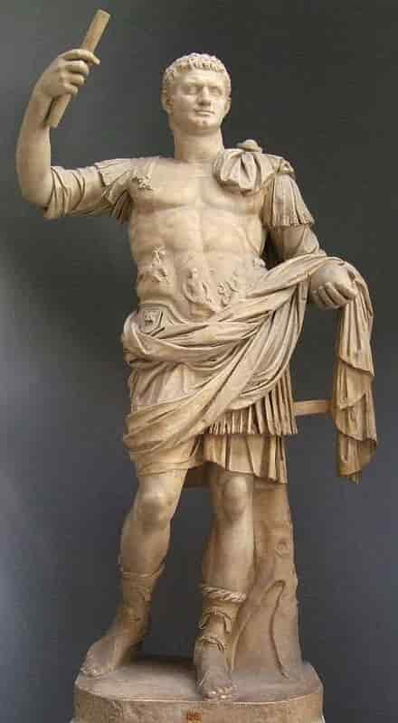 Statue de l'empereur romain Domitien