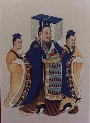 L'empereur Wu de la dynastie Han