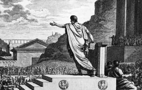 Gaius Gracchus ou Gracques, un des frères Gracques