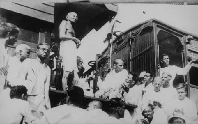 Combat de Gandhi contre les castes
