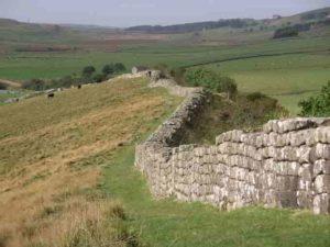 Mur d'Hadrien en Grande-Bretagne