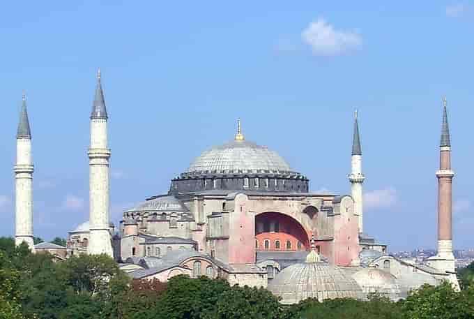 Hagia Sophia Sainte-Sophie de Constantinople