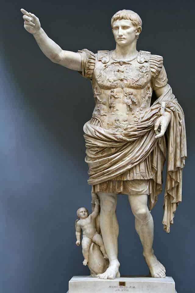 Statue de l'empereur romain Auguste