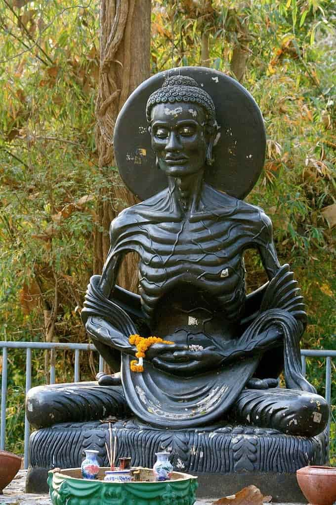 Bouddha avant son éveil