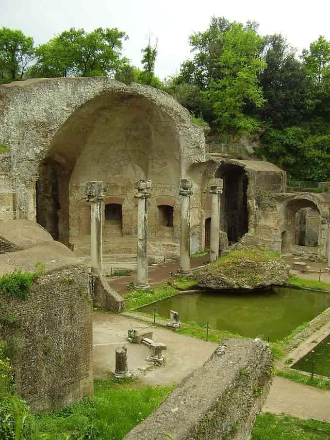 Ruines de la villa d'Hadrien
