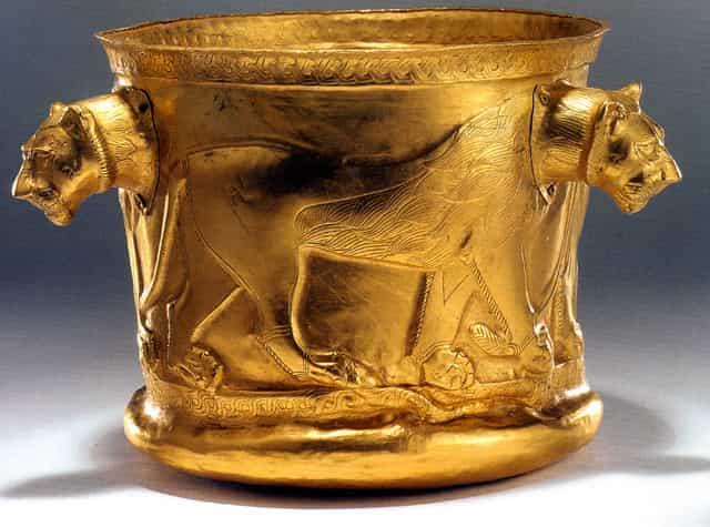 Bol en or achéménide