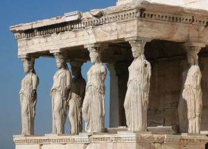 Colonnes de l'acropole