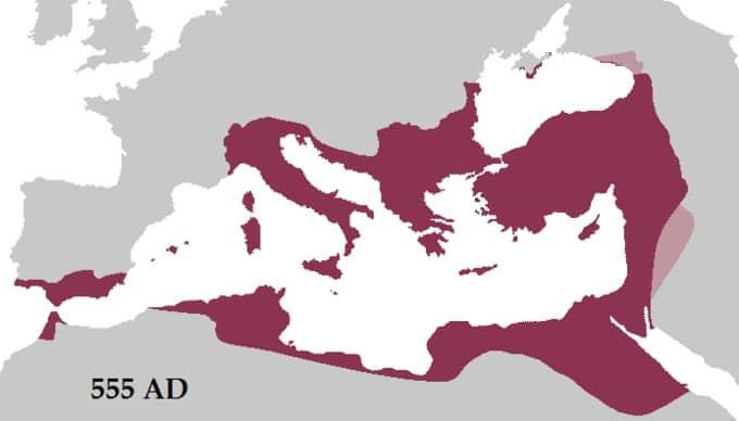 Apogée de l'Empire romain d'Orient