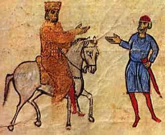 L'empereur Basile I, dynastie macédonnienne de l'empire byzantin