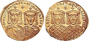 Numismatique empire byzantin