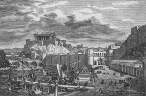 Temple de Jupiter dans la Rome antique