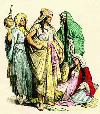 Femme dans la péninsule arabique avant l'Islam