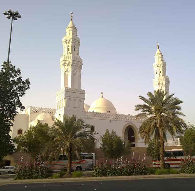 La mosquée Al Qiblatain